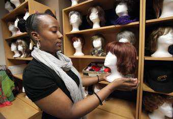 Cleveland Clinic Wig Boutique - courtesy of the Plain Dealer