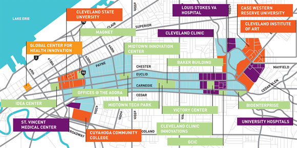 grant to put cle on the tech map with 100 gigabit internet on