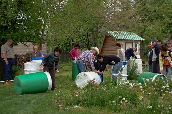 EcoVillage Rain Barrel Workshop