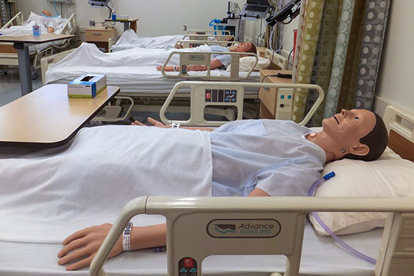 Mannequins used at Cleveland State University's new Center for Innovation in Medical Practices