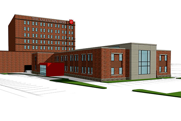 Salvation Army to break ground on $10m family shelter downtown