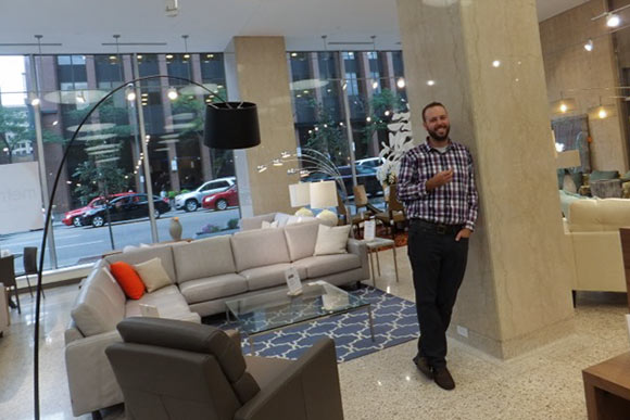 Metro Home manager Robb Ernsberger. Metro Home rekindles heyday of downtown shopping