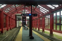 W. 25th Station - potential location for public art implementation