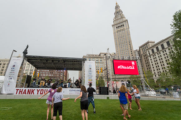 RNC Thank You Party in Public Square