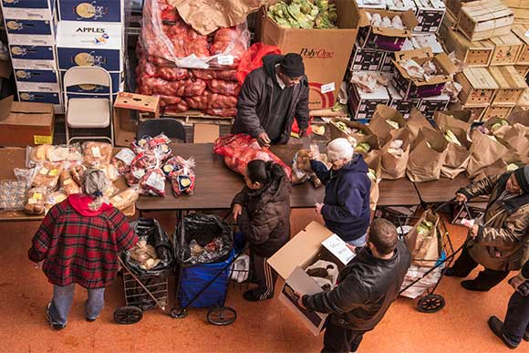 May Dugan Center�s basic needs program provides food, fresh produce and clothing to Cleveland�s west side residents in need