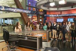 True2U group shot at WKYC TV 3
