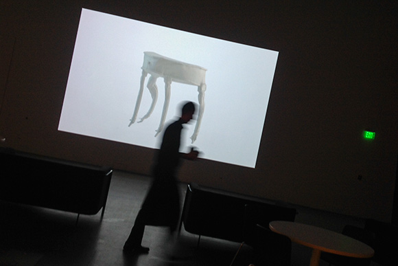 Video Installation at MOCA - Untitled by Oliver Laric
