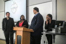 Cleveland Codes students showcase website project during  recent demo day