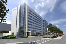Holiday Inn Cleveland Clinic rendering