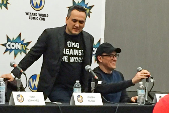 The Russo Brothers at Wizard World