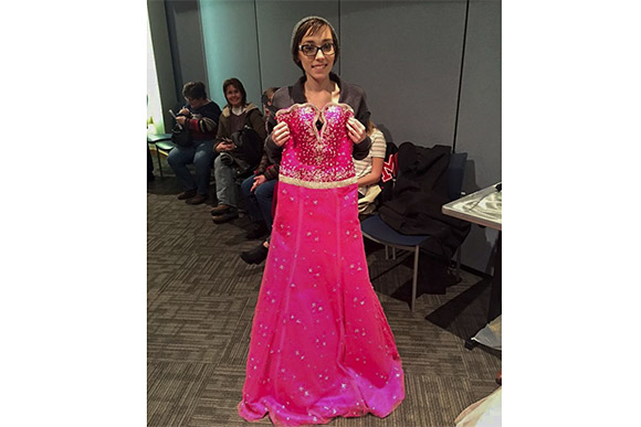 Teens turn to glitz and glam, away from cancer, during prom dress event