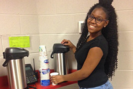 John Marshall student coffee shop