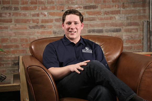Logan Fahey, Bloom Bakery co-founder and general manager