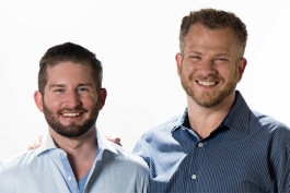 Wheedle founders John Weston, left, and Brian Stein