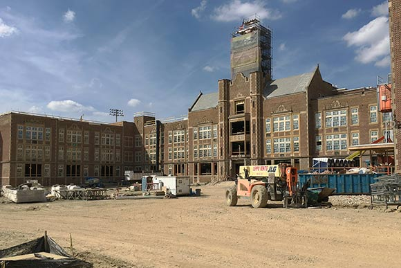 Heights High renovation