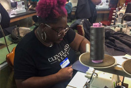 Cosmic Bobbins Foundation's - Cleveland Sews Initiative