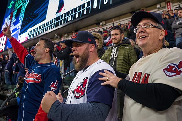 Indians Win Game One of the World Series 2016