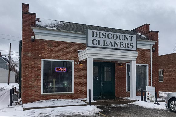 Discount Dry Cleaners - after