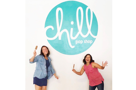 Maggie and Elizabeth Pryor of Chill Pop Shop