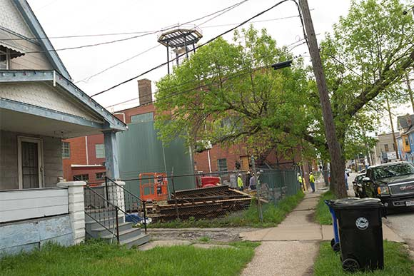 Update Iconic Water Tower Retakes Rightful Place Atop