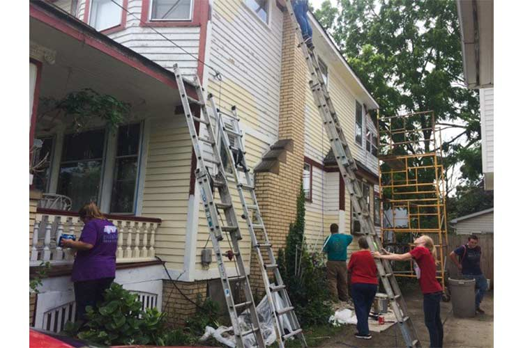 Home Repainting projects for Old Brooklyn Residents