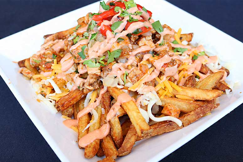 Loaded Adobo Fries