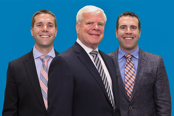 Chuck, Matt and Trevor Gile
