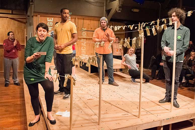 Regional Premiere of Sojourn's HOW TO END POVERTY at Portland Playhouse