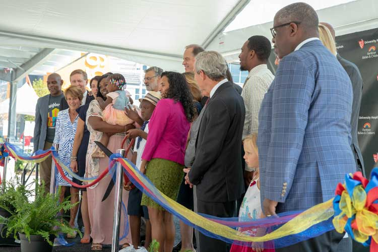 Women & Children's Center - Ribbon Cutting and Block Party