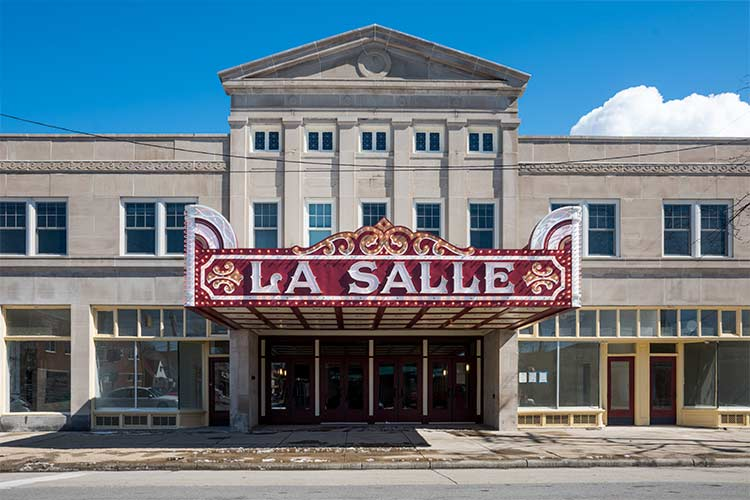 The La Salle Theatre, a landmark in North Collinwood since 1922