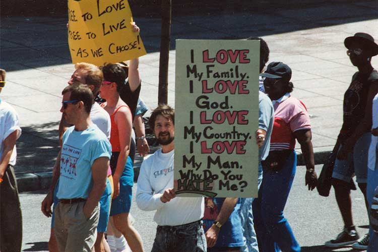 Cleveland Pride 1990 featured in Chapter Four