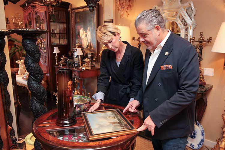 Cynthia Maciejewski and Ronald Greenwald, co-founders of Neue Auctions