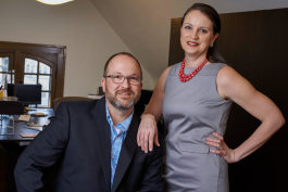 Doug Crouch and Stacie Ross, the founders Impel Creative