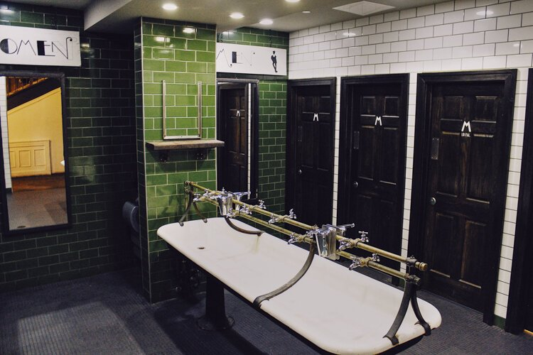 Butcher and the Brewer's restrooms recently were named one of 10 finalists in Cintas Corp.'s 18th annual Best Restroom Contest.
