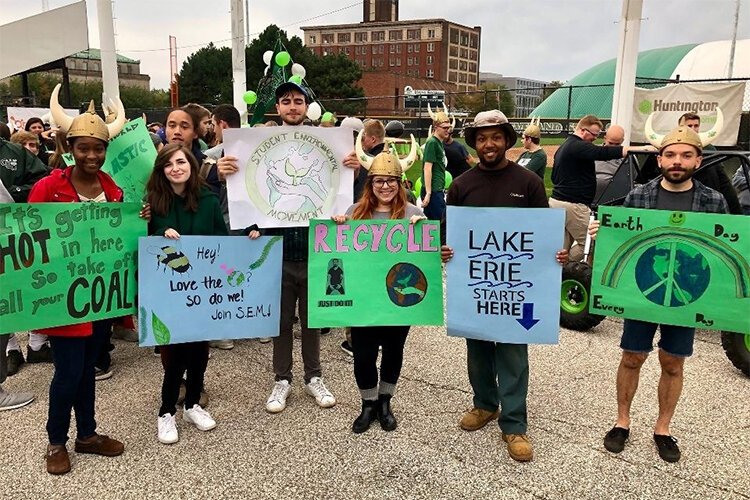 The Student Environmental Movement at CSU advocates for environmental stewardship on and off campus.
