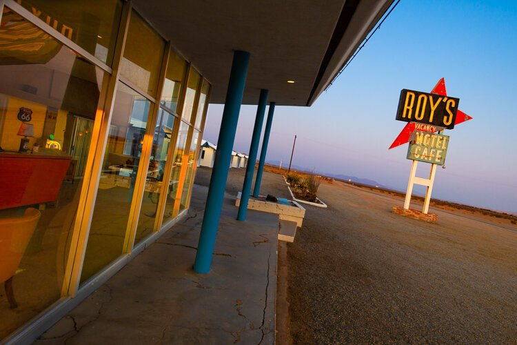 Roy's Motel & Cafe, Google View