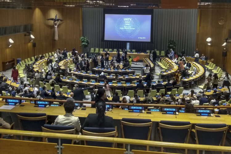 The UN hosted its first Youth Climate Summit in September 2019.