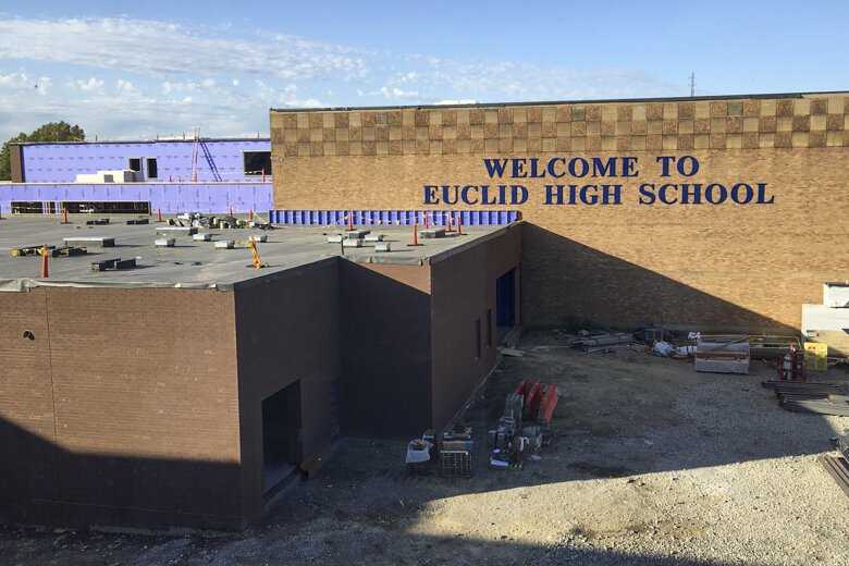 Price tag for the Euclid High School project is $123 million.