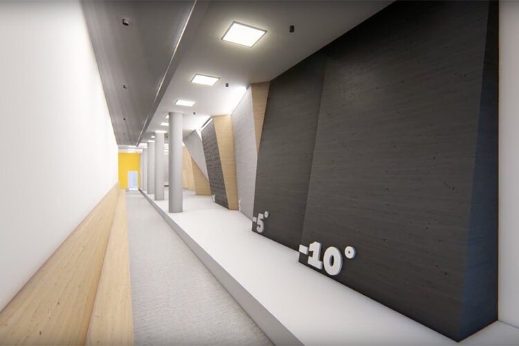 Rendering of the new 4,000-square-foot Nosotros downtown facility