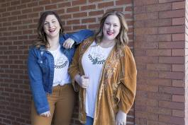 Julia Gramenz and Abbey Markiewitz of Fetch & Co. boutique