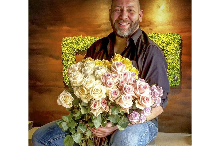 Scott Robertson of Stems Fleur floral and gift boutique in Cleveland Hts.