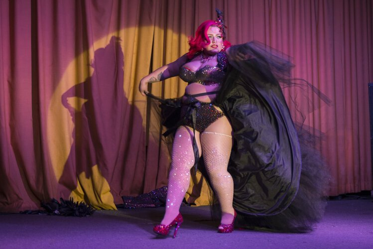 Bella Sin, founder of Cleveland Burlesque