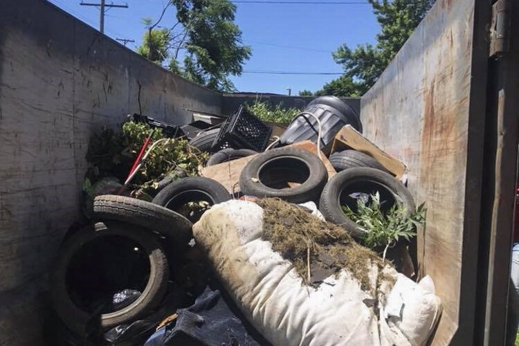 Dumpster Days and Clean up combating illegal dumping
