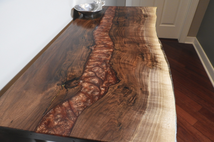 Lava Epoxy Table