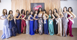The first class of Miss Latina Image 2019
