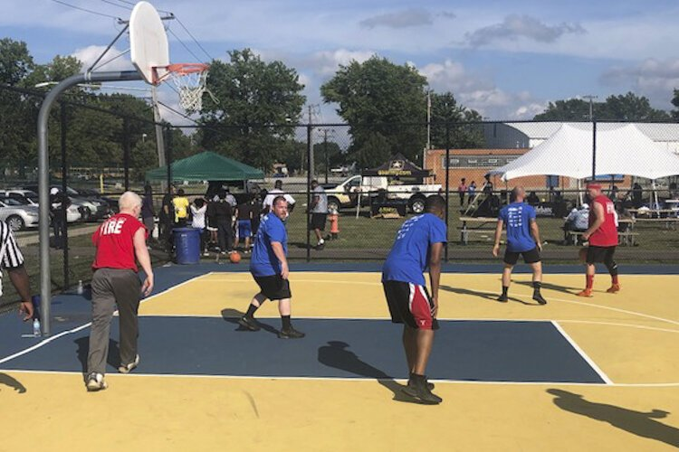 The Police Athletic League tournament