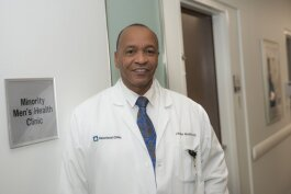 Dr. Charles Modlin launched the Minority Men's Health Fair in Cleveland in 2003 to help eliminate health disparities among black men.