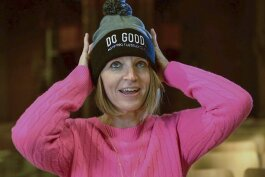 "The nonprofit groups can sell ""Do Good"" hats made by Cosmic Bobbins' Cleveland Sews program."
