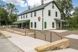 The Boston Mill Visitor Center