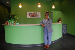 Dr. Venaya Jones is the first black female veterinarian to open a clinic in the Fairfax neighborhood.
